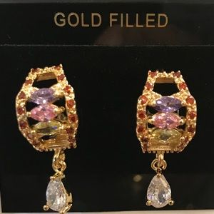 18k Gold plated earring